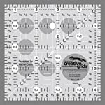 Creative Grids Ruler 4.5 x 4.5 Inches
