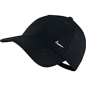 Nike Men's Swoosh Cap - Black, Size One