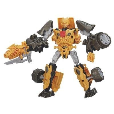 Transformers Age of Extinction Construct-Bots Dinobot Warriors Bumblebee and Nosedive Dino Buildable Action Figure by Transformers