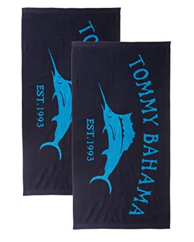 Tommy Bahama Marlin 2-Piece Beach Towel Set