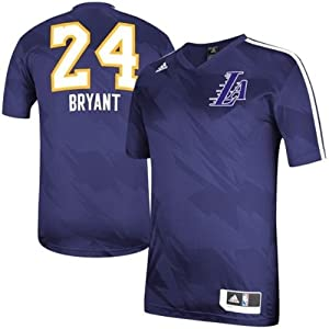 Kobe Bryant Los Angeles Lakers Youth Shooter Jersey Purple by adidas