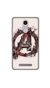 Joovvi Premium Gothic Design Printed Designer Mobile Case/Cover For Redmi note 3