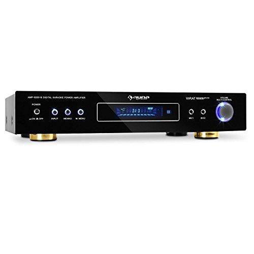 Auna-Design-51-Surround-Verstrker-schwarzblack-600-Watt-Karaoke