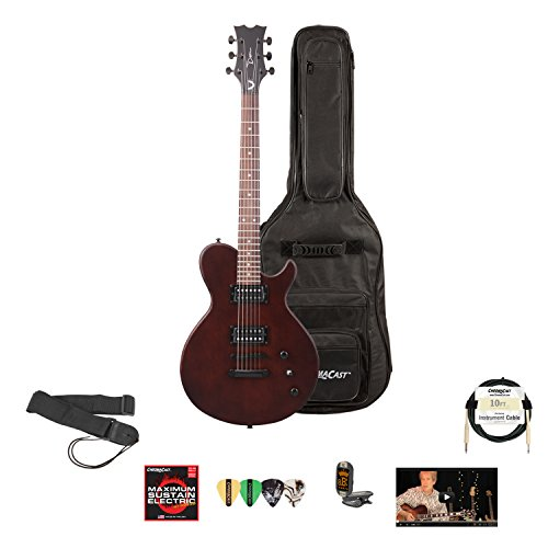 Dean Evo Xm Sn Electric Guitar With Lesson, Chromacast Gig Bag, Strings, Strap, Cable, Tuner And Picks