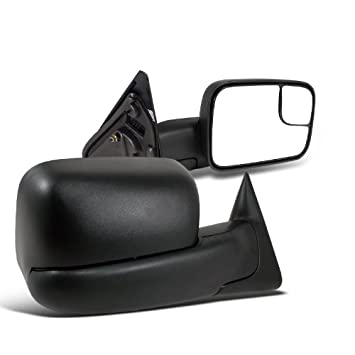 Mirror Pedestal Style Manual Textured Black Driver Side Left LH for 09-10 F150