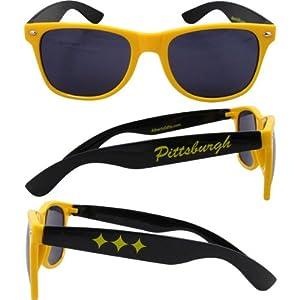 Pittsburgh Sunglasses (gold W/black)