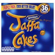 McVities Jaffa Cakes Triple Pack 36 450g