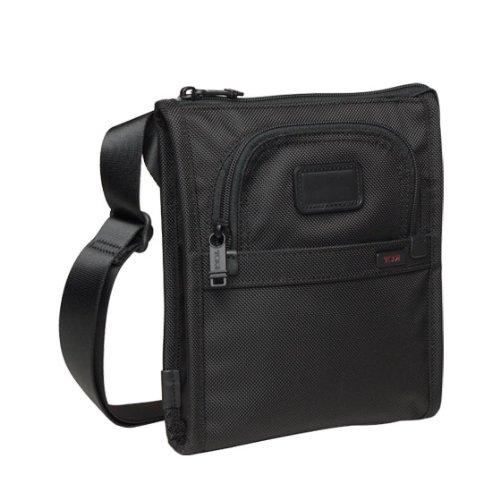 TUMI ALPHA 22110 ポケットバッグ・スモール ブラック [並行輸入品]