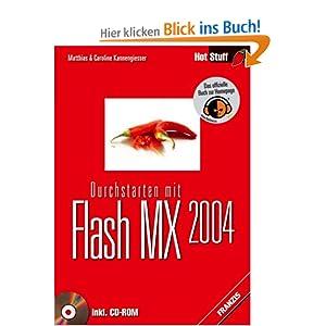 eBook Cover für  Durchstarten mit Flash MX 2004