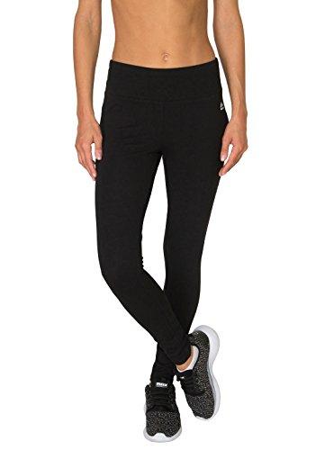 RBX Active Women's Cotton Span Jersey Legging Black M