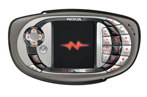 Nokia N-Gage QD Game Deck - Coal