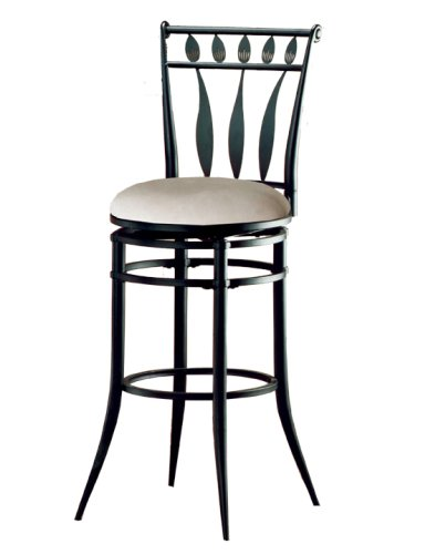 Super Buy Hillsdale Hudson 26 Inch Swivel Counter Stool Black Caraccident5 Cool Chair Designs And Ideas Caraccident5Info