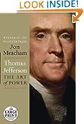Thomas Jefferson: The Art of Power (Random House Large Print)