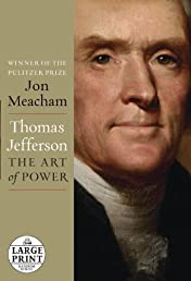Thomas Jefferson: The Art of Power (Random House Large Print)