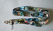 Super Hero BATMAN Lanyard ~Key ID Badge Cell Phone Holder~
