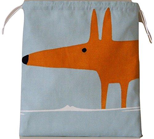 scion-mr-fox-sky-tangerine-tessuto-coulisse-impermeabile-foderato-wash-bag-cosmetici-borsa