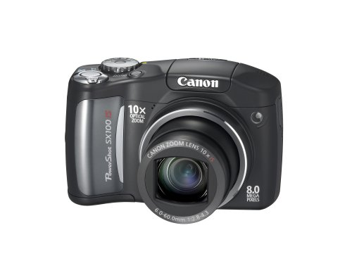 Canon PowerShot SX100 IS is the Best Compact Point and Shoot Digital Camera for Action and Low Light Photos Under $400