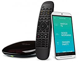 Logitech Harmony Home Control - 8 Devices (Black) (Certified Refurbished)