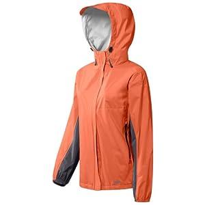 GoLite Women's Tumalo Storm Rain Jacket,Coral/Granite,Small