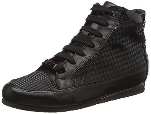 Tosca Blu KIN, Sneaker alta donna, Nero (Schwarz (NERO C99)), 40