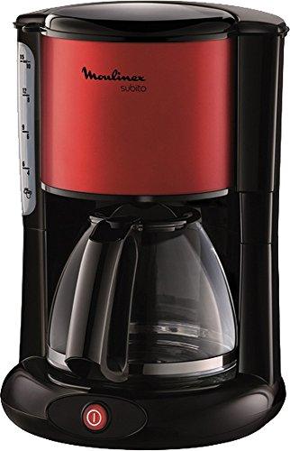 Moulinex macchina da caffè Subito rosso/nero, capacità 10-15tazze