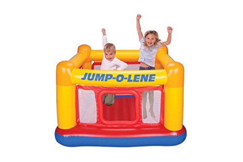 New Shop Intex Inflatable Jump-O-Lene Ball Pit Playhouse Bouncer House | 48260Ep front-89095