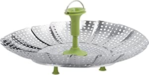 Trudeau Stainless Steel Vegetable Steamer