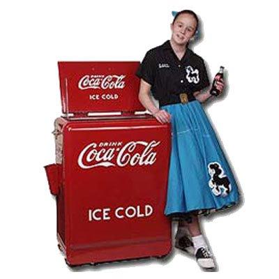 Classic Coca-Cola Refrigerated Machine (Retro Coke Cooler compare prices)