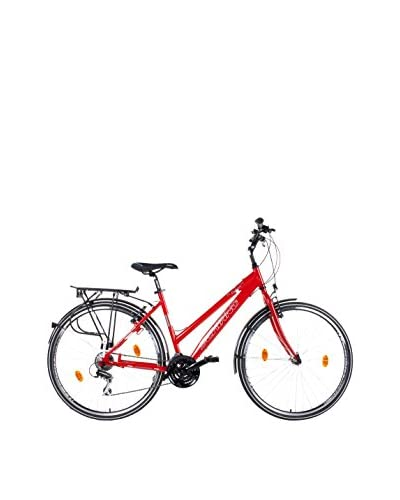 SCHIANO Bicicleta 28 Razor 24V Rojo