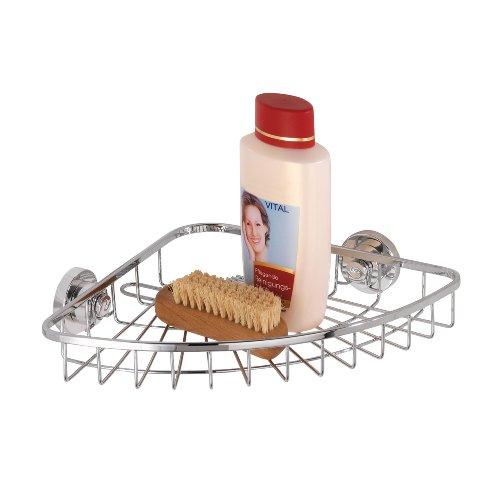 wenko-17794100-power-loc-tira-acqua-per-vasca-e-doccia-elegance-fissaggio-senza-trapano-acciaio-inos