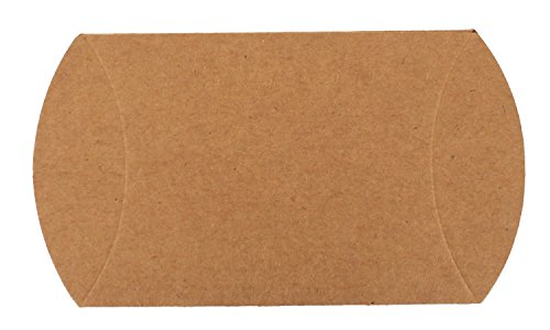 Trimweaver 50 Piece Pillow Box, Kraft Brown (Pillow Boxes compare prices)