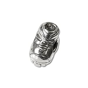 Carlo BIAGI Bead 925 Silber Inline Skates Armband Anhänger BBS109