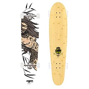 Arbor Blunt Bamboo Longboard Bamboo, One Size