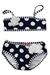 Kate Mack Baby-Girl's Infant Monte Carlo Bikini in Navy