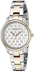 Stuhrling Original Women's 783.03 Symphony Analog Display Quartz Two Tone Watch