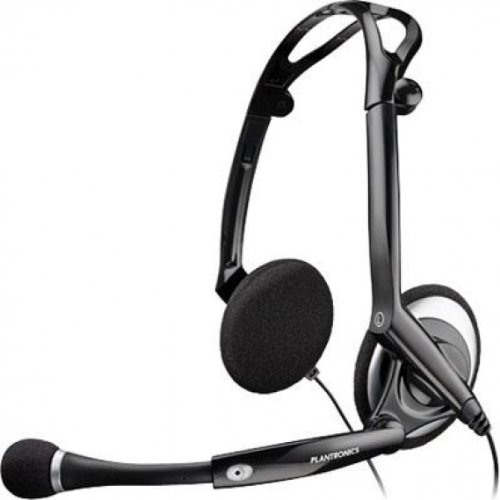 Plantronics .Audio 400 Dsp Foldable Pc Headset, Over-The-Head