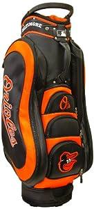 MLB Baltimore Orioles Medalist Cart Golf Bag, Black by Team Golf