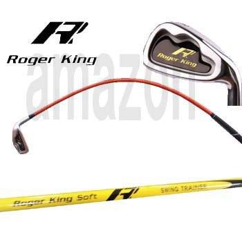 ムチのようにしなる ロジャーキング ゴルフスイング練習機 スイングドクターアイアン (イエロー(よりソフト))