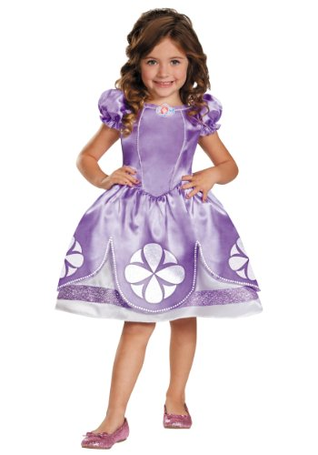 Disney Sofia The First Classic Girls Costume