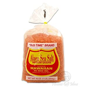 Hawaiian Red Alaea Sea Salt Old Time Brand