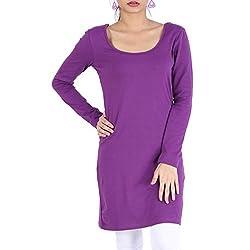 Avarnas Women's Tunic (AVTU021PUL_Royal Purple_38)
