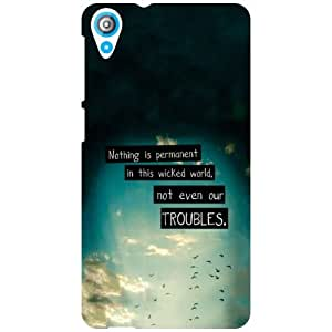 HTC Desire 820 Back Cover - Cute Designer Cases