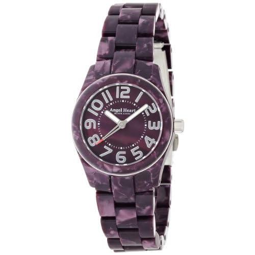 [エンジェルハート]Angel Heart 腕時計 ブラックレーベル パープル文字盤 アセテートケース アセテートベルト BK28APP レディース