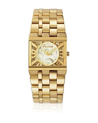 Police Reloj de cuarzo Woman GLAMOUR SQUARE PL10501BSG/06MA 30 mm