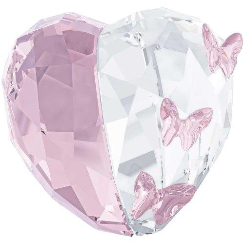 Swarovski Love Heart Light Amethyst Figurine, small (Pure Amethyst Crystal compare prices)