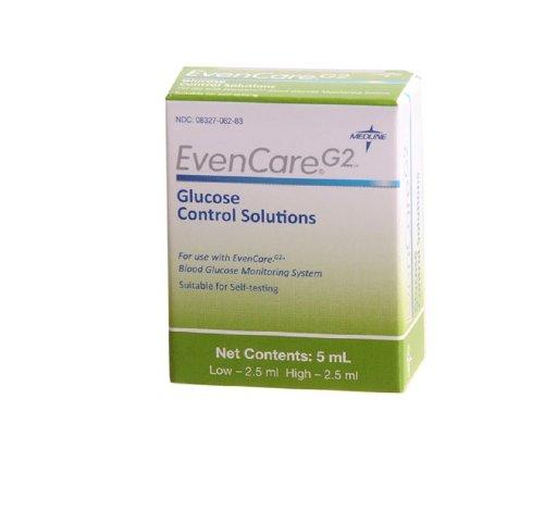 Cheap EvenCare G2 Glucose Meter Hi / Lo Control Solution ( CONTROL, EVENCARE G2 HI LO ) 1 box / box (MD44MPH1560Z.BX)