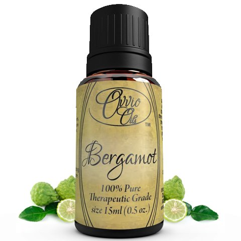Bergamot oil by Ovvio Oils - Premium Therapuetic Grade 100% Pure Bergamot Essential Oil for Aromatherapy - Origin: Italy- Holistic & High Quality Available - Large 15 ml
