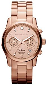 Women Watch Michael Kors MK5716 LIMITED SPECIAL EDITION Paris Chronograph Rose