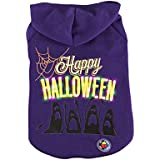 Royal Wise Happy Pet Dog LED Light up Hoodie Costume Sweater Coat T Shirt Clothes (M)