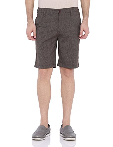 Blue-Wave-Brown-Casual-Shorts-for-Men